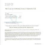 Dwelling Contractor Qualifier Certificate