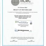 Water Fire Smoke and Odor Certificate
