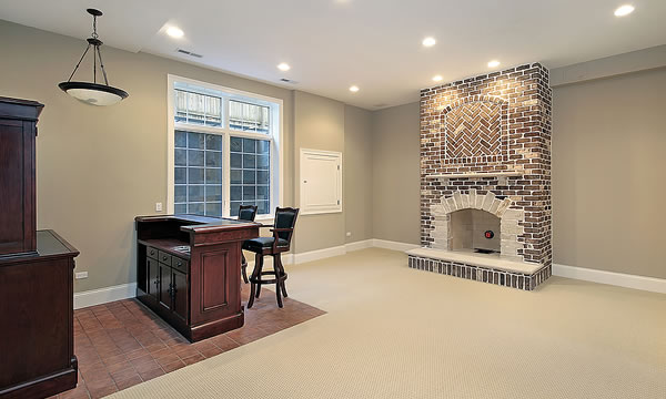 Basement Remodeling Contractor Milwaukee Brad's Construction Mesmerizing Basement Remodeling Milwaukee Exterior Interior