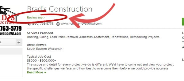 Review Brad's Construction on Houzz.