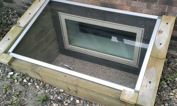 Basement Egress Window Installer in South Eastern Wisconsin.