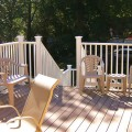 Composite or Wood Deck Building Materials