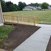 Wheelchair Ramp Construction