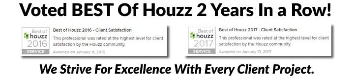 Brad's Construction Houzz Awards