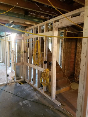 remodeling an investment home in Wisconsin.