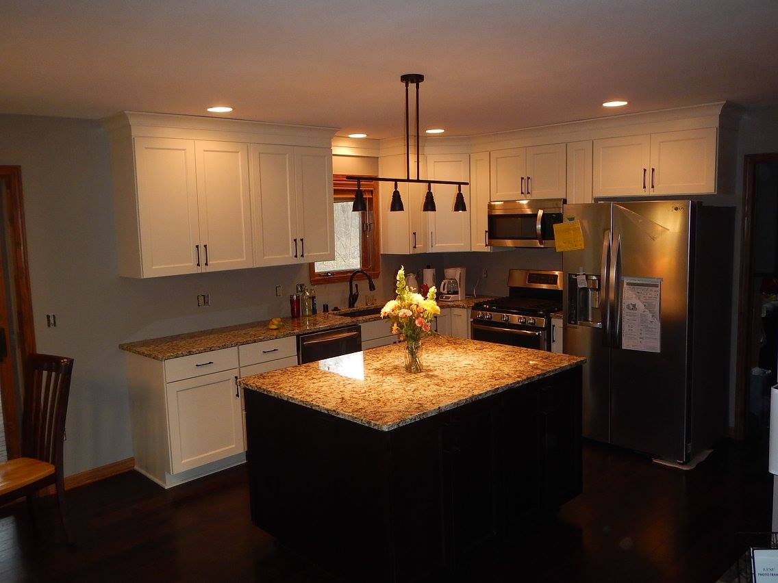 Kitchen After Remodeling By Brad's Construction