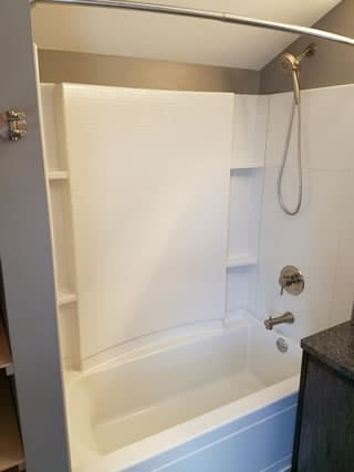 Shower Remodeling Contractor Dodge County Wisconsin.
