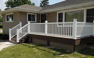 Wood & Composite Deck Builder Dodge County WI.