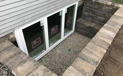 Egress Window Installations Dodge County WI