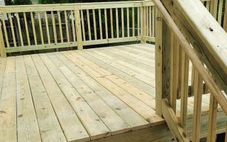 Storm Damaged Deck Repairs