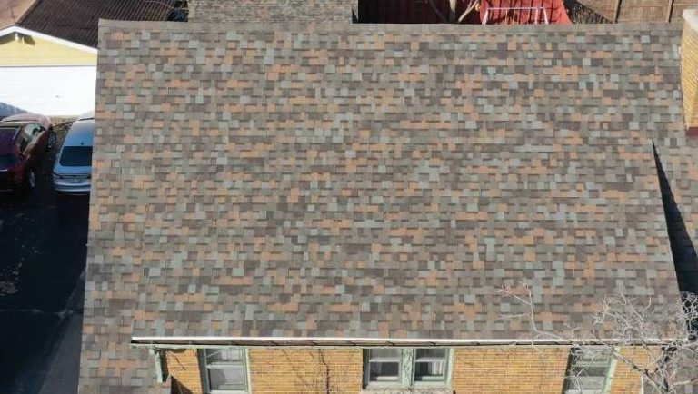 Owens Corning Roof Replacement in Beaver Dam WI Using Aged Copper Color