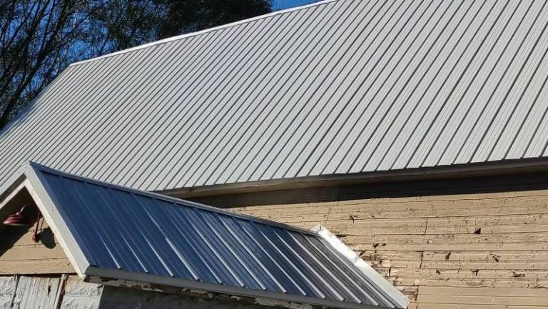 Barn Metal Roofing Installation In Fox Lake WI
